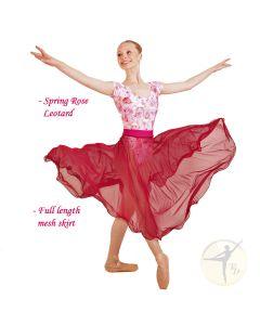 """""""Spring Rose"""" - REEDLE Ltd Ed Leotard"""