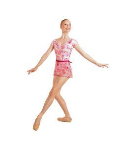 """""""Spring Rose"""" Mesh Ballet Wrap / Skirt - REEDLE Ltd Ed"""