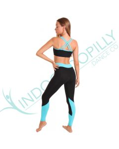 Indooroopilly Dance Co. 'Elemental' Cross Strap Crop