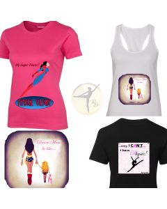 Designs by REEDLE - My Power! - Ladies & Kids T-shirts & Singlets