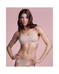 Capezio BODYLINERS SEAMLESS Clear Back Bra - Overs & Unders 3683