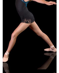 REEDLE 'Black Rose' LACE BALLET SKIRT (Girls - Ladies sizes)