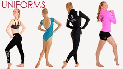 Dance club uniforms